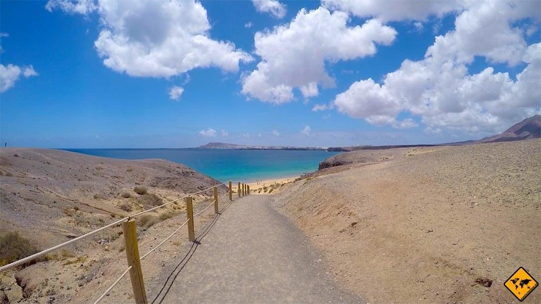 Playa de la Cera Papagayo Lanzarote