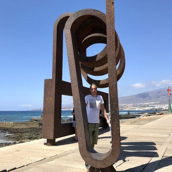 Playa de las Américas Kunst am Meer