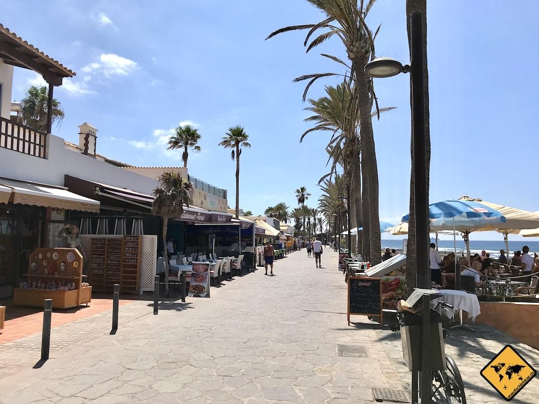 Playa de las Américas Strandpromenade Shops