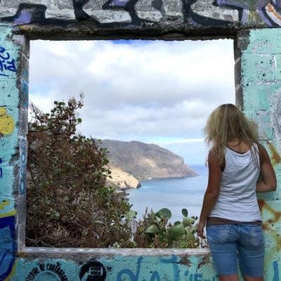 Playa de las Teresitas Fenster