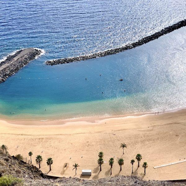 Playa de las Teresitas schönster Strand auf Teneriffa