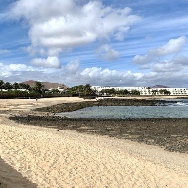 Playa de los Charcos Costa Teguise Lanzarote
