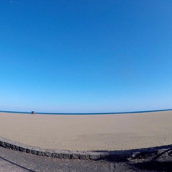 Playa de los Pocillos Puerto del Carmen Lanzarote Sand