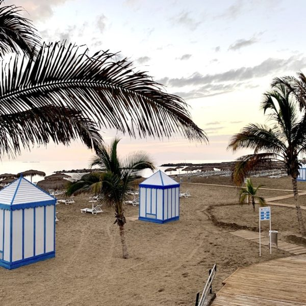 Playa del Duque Costa Adeje Umkleiden