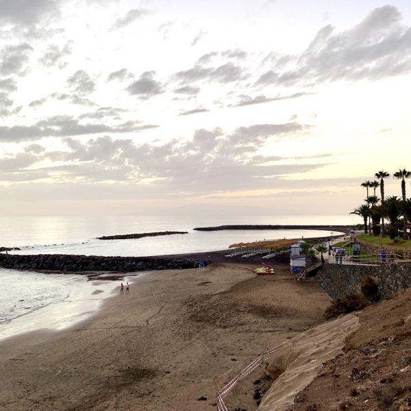 Playa del Duque Teneriffa hinterer Abschnitt