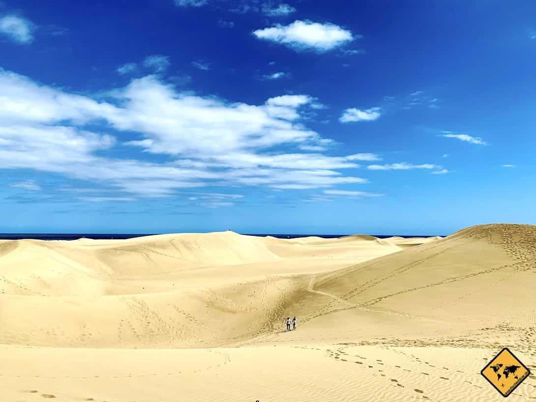 Playa del Inglés Sehenswürdigkeiten Dünen Maspalomas