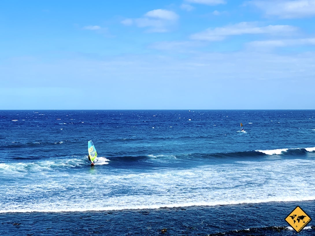 Playa del Pozo Windsurfer-Strand Gran Canaria