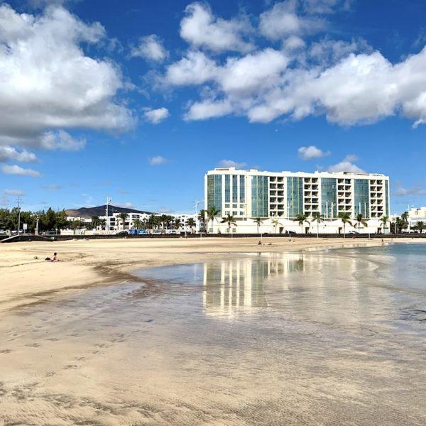 Playa del Reducto Arrecife Sand