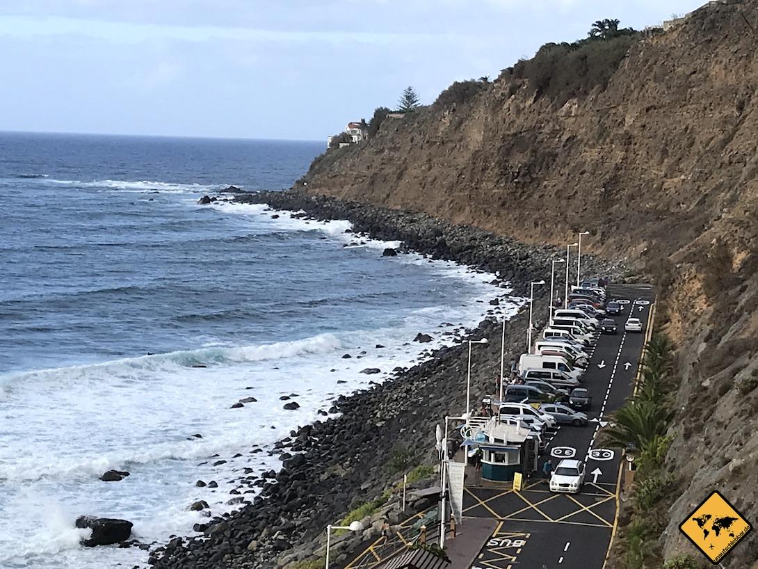 Playa del Socorro Parkplätze