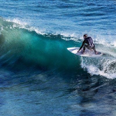 Der Playa del Socorro ist vor allem bei Surfern ein beliebter Strand auf Teneriffa