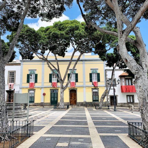 Plaza de Santo Domingo Las Palmas de Gran Canaria