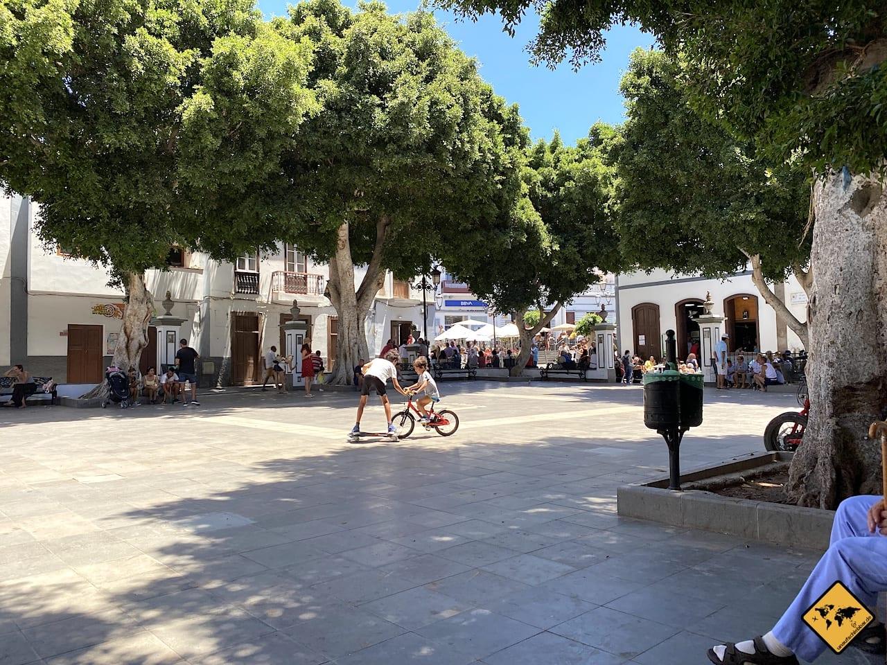 Plaza de la Constitución Agaete