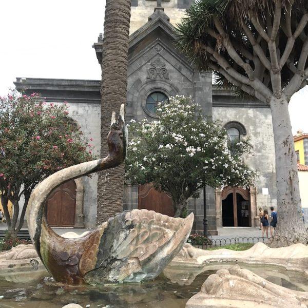 Plaza de la Iglesia Puerto de la Cruz