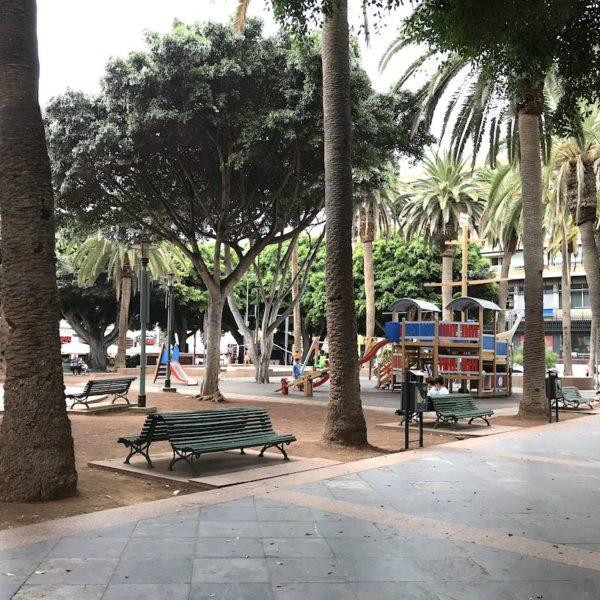 Plaza del Charco Puerto Cruz Spielplatz