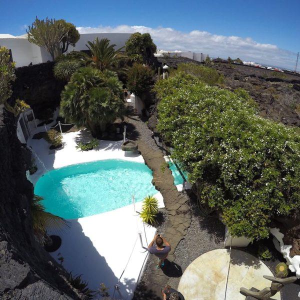 Pool Garten Taro de Tahíche Lanzarote
