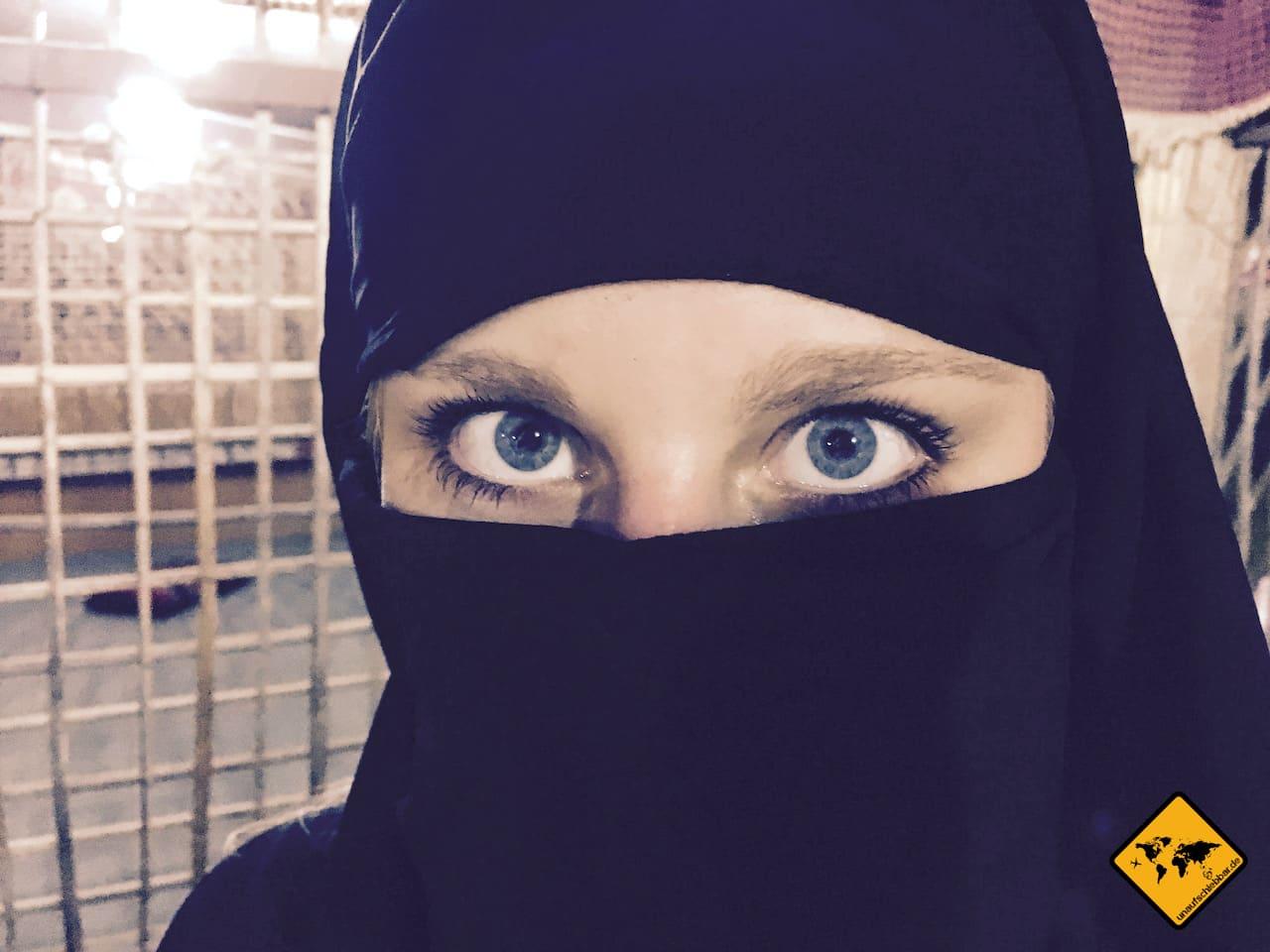 Portraitfoto Niqab Dubai