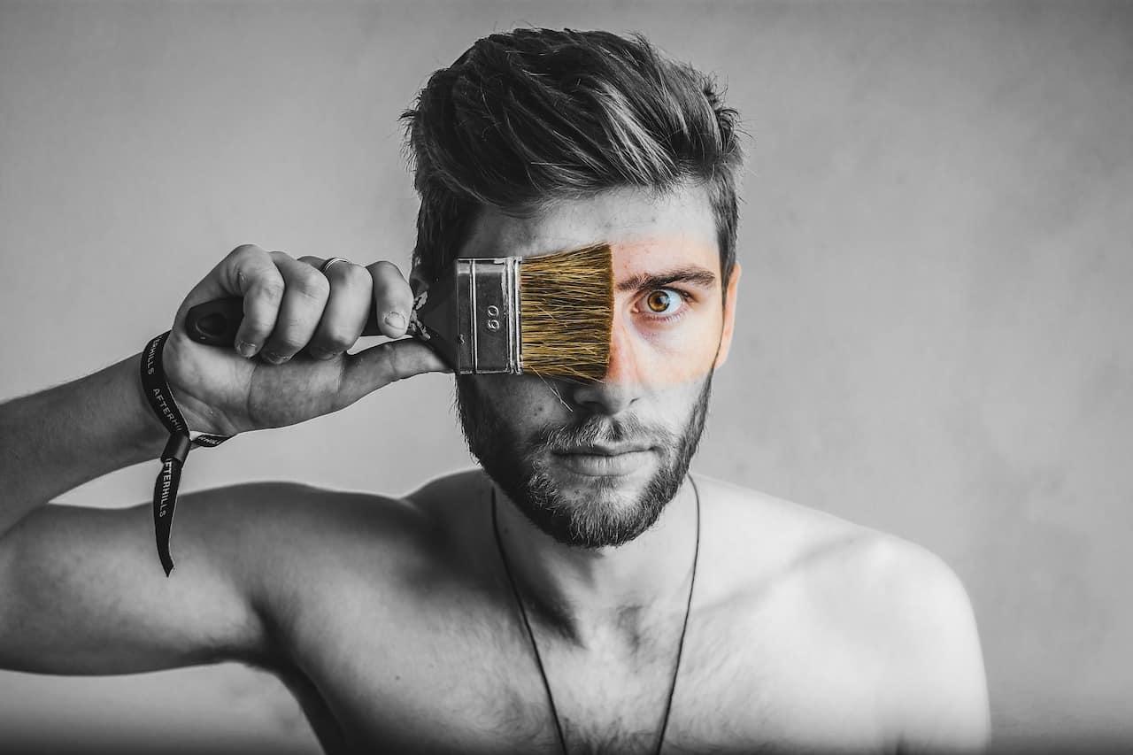 Portraitfoto Pinsel