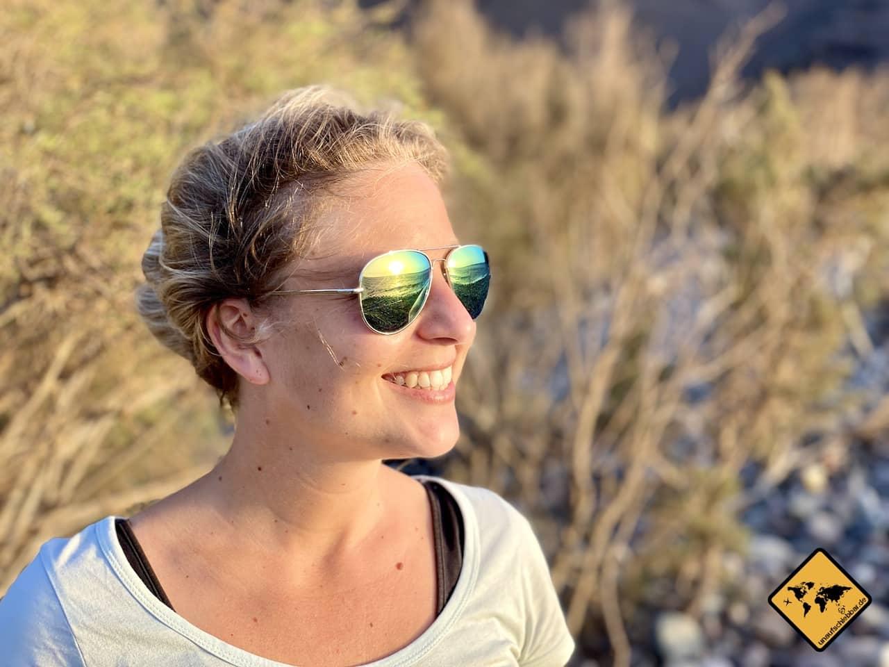 Portraitfotografie Ideen Spiegelung Sonnenbrille