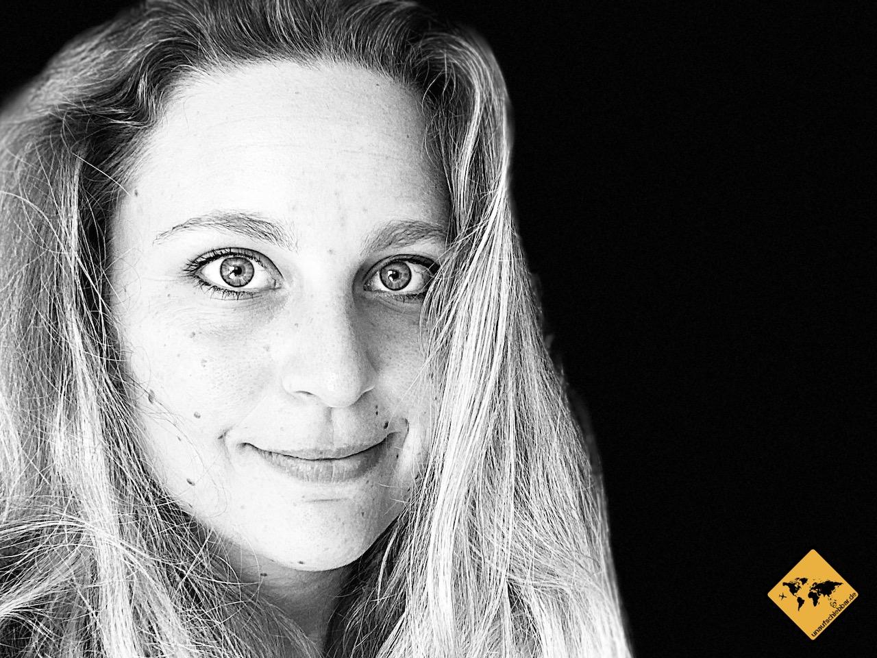 Portraitfotografie Ideen schwarz-weiß