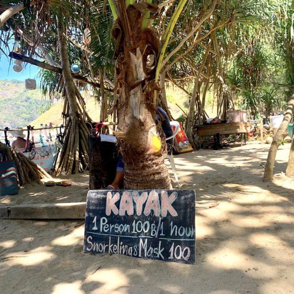 Preise Kajak schnorcheln Yanui Beach Phuket