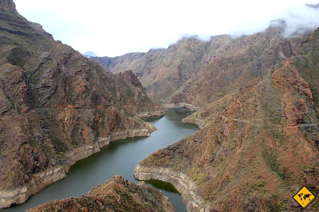 Presa del Parralillo Gran Canaria