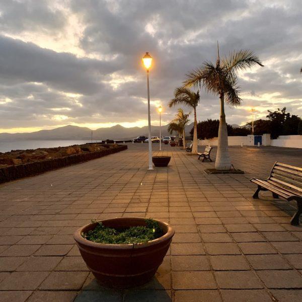 Promenade Abend Puerto del Carmen Lanzarote