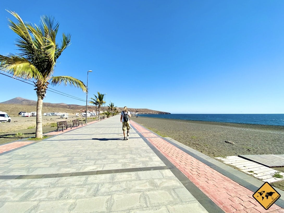 Promenade Camping-Parkplatz Playa