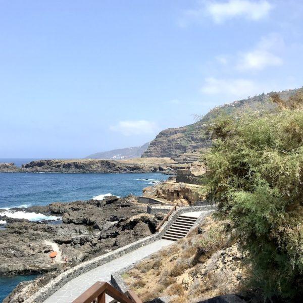 Promenade Costa Sauzal Teneriffa