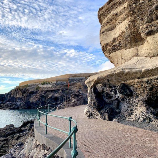 Promenade Playa Abama Teneriffa
