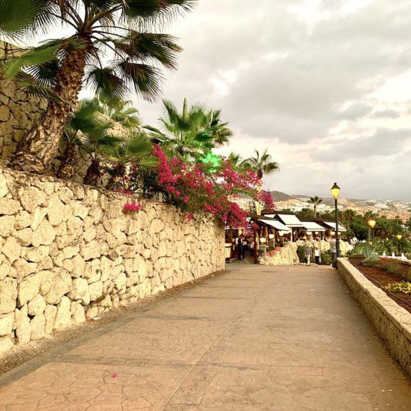 Promenade Playa del Duque Teneriffa