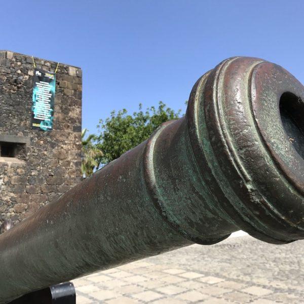 Puerto Cruz Castillo de San Felipe Kanone