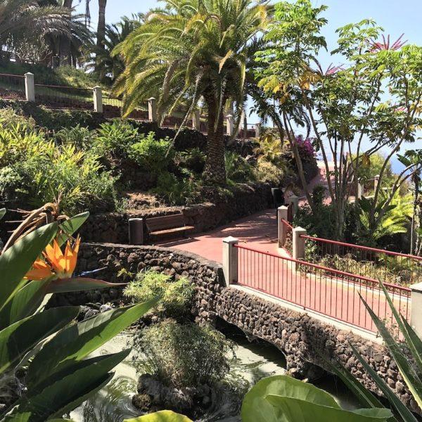 Puerto Cruz Teneriffa Parque Taoro