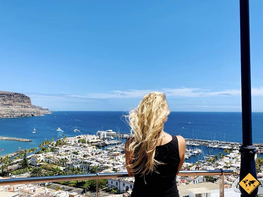 Puerto de Mogán Aussichtspunkt Gran Canaria