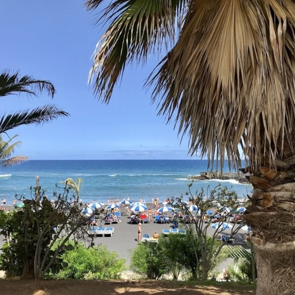 Puerto de la Cruz Playa Jardin
