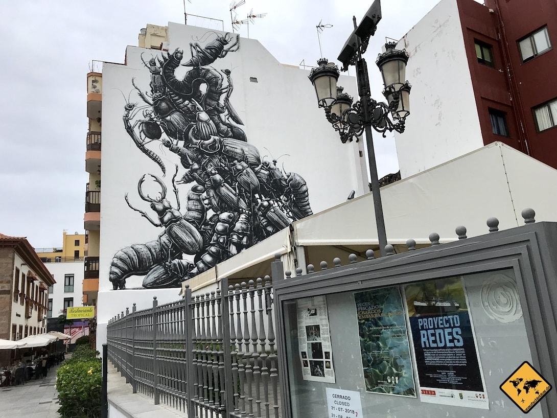 Puerto de la Cruz Streetart Teneriffa 5