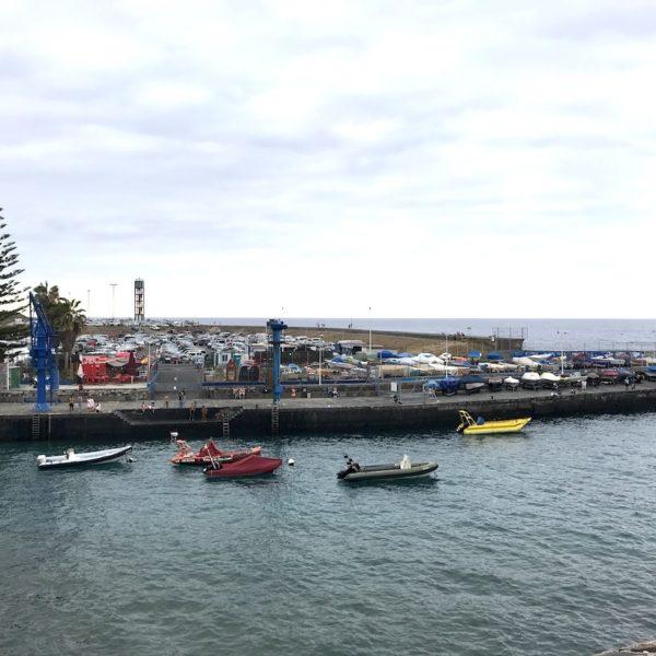 Puerto de la Cruz Teneriffa kleiner Hafen
