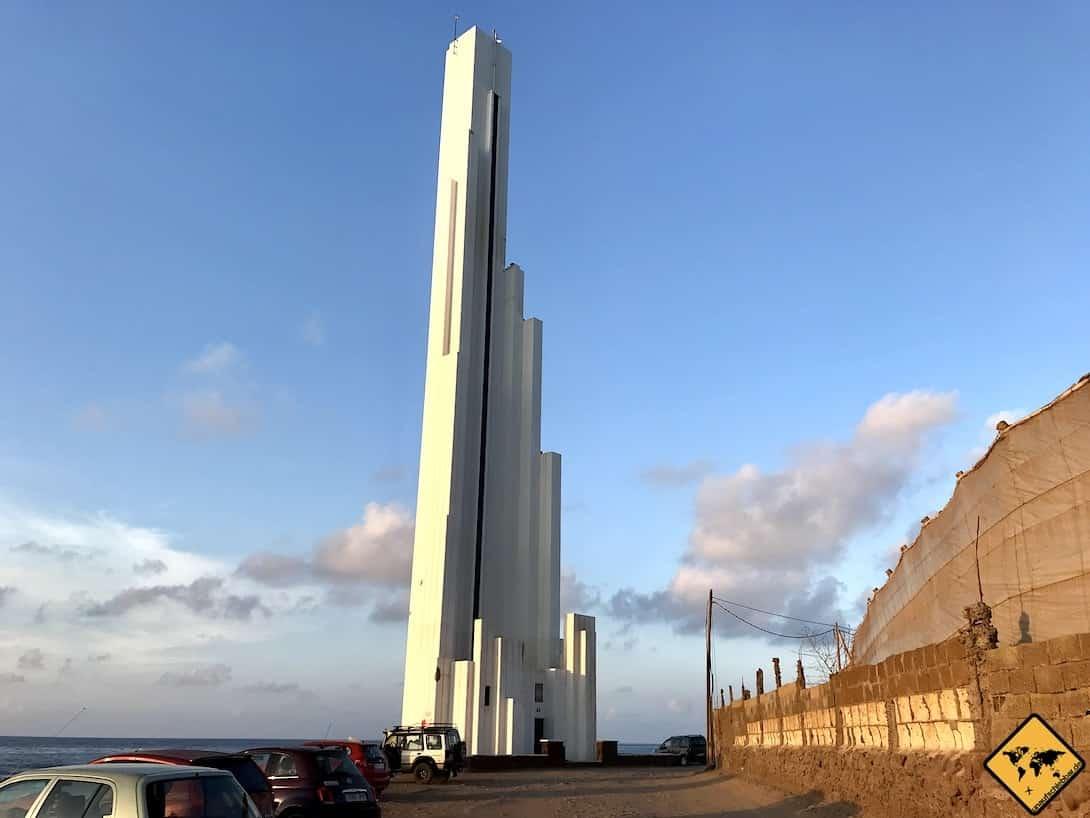Punta del Hidalgo Leuchtturm Teneriffa