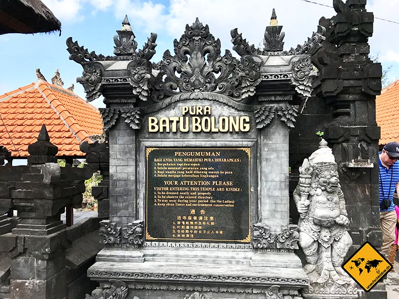 Pura Batu Bolong Temple