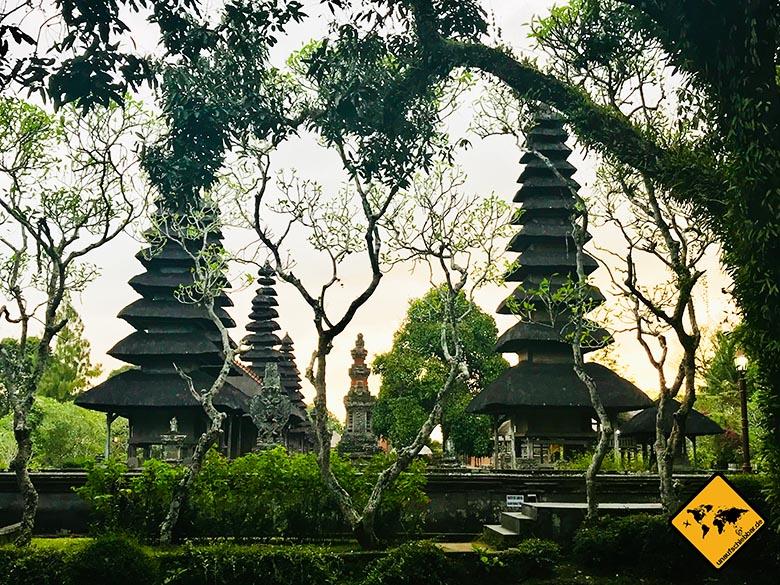 Pura Taman Ayun Tempel Gartensicht
