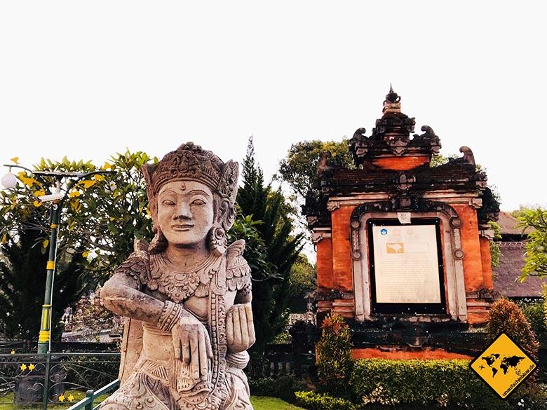 Pura Taman Ayun Temple Bali Eingang