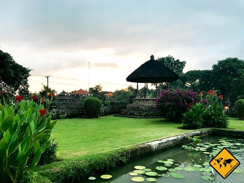 Pura Taman Ayun Temple Eingang Park