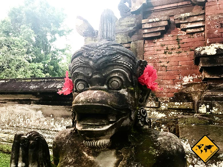 Pura Taman Ayun Temple Skulpturen