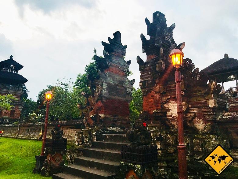 Pura Taman Ayun Temple Zugangskontrolle