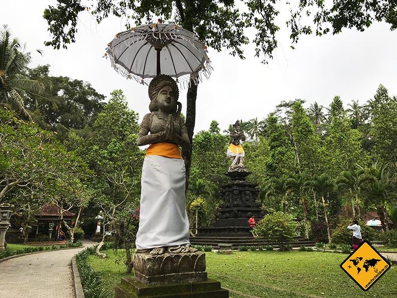 Pura Tirta Empul Bali Zugang