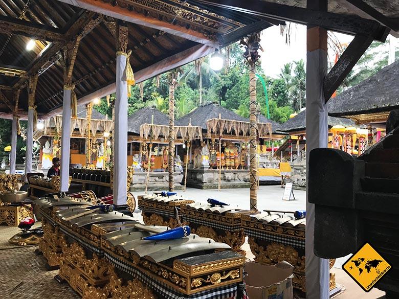 Pura Tirta Empul Temple Gold