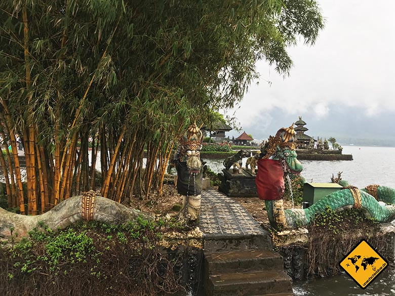 Pura Ulun Danu Bratan Temple Nebeninsel
