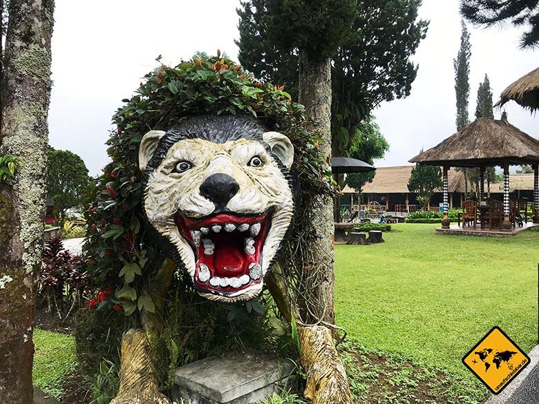 Pura Ulun Danu Bratan Temple Parkskulptur