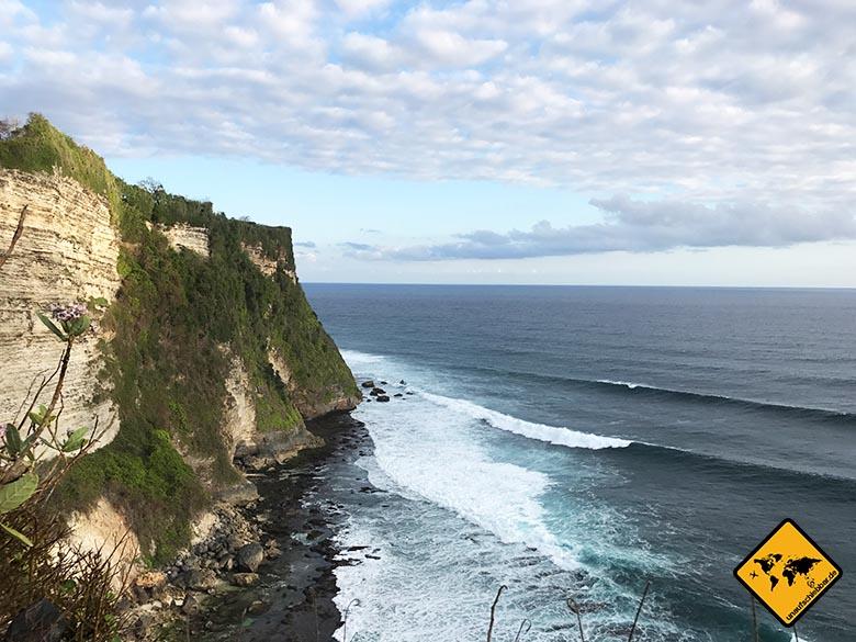 Pura Uluwatu Steilküste