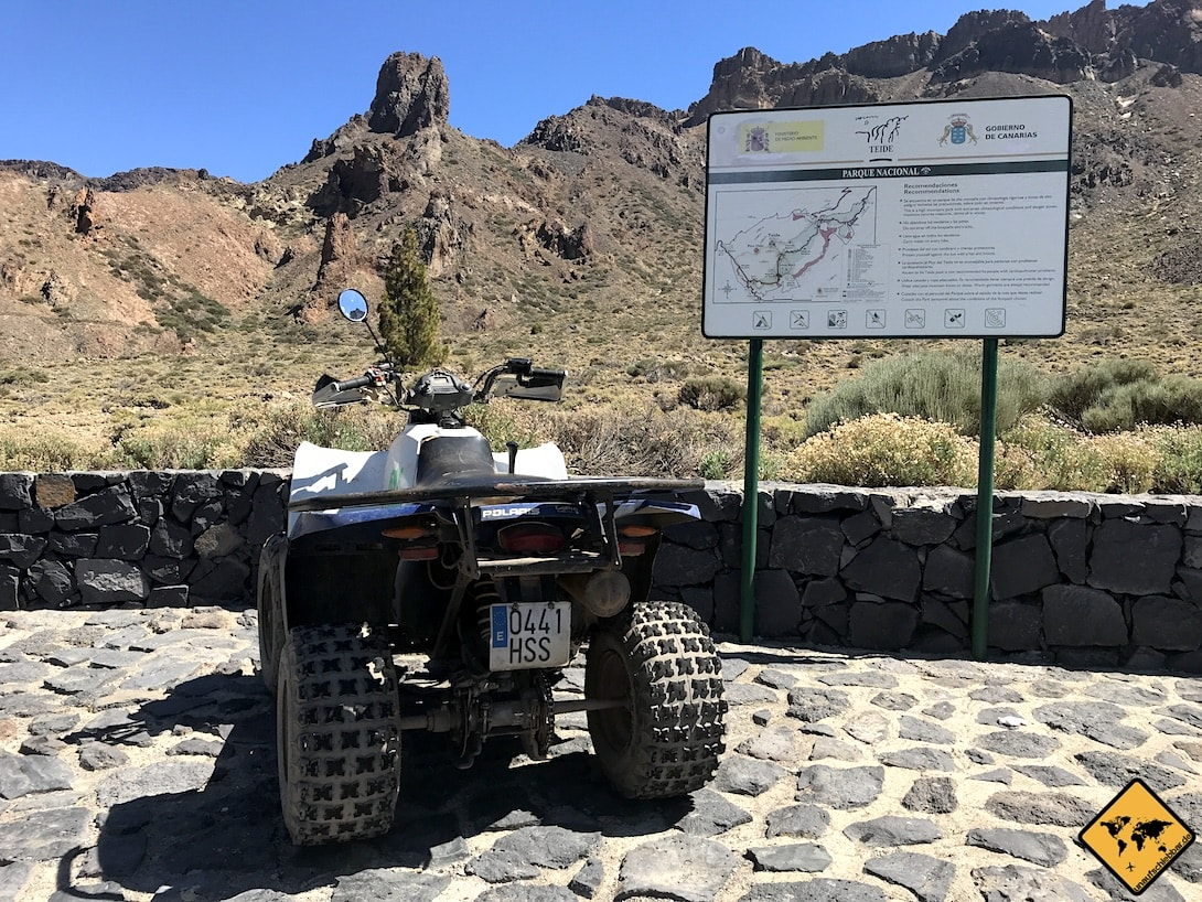 Quad Teide Nationalpark