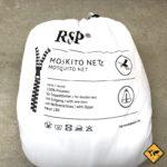 RSP Moskitonetz Travel XXL mit Eingang Doppelbett weiss
